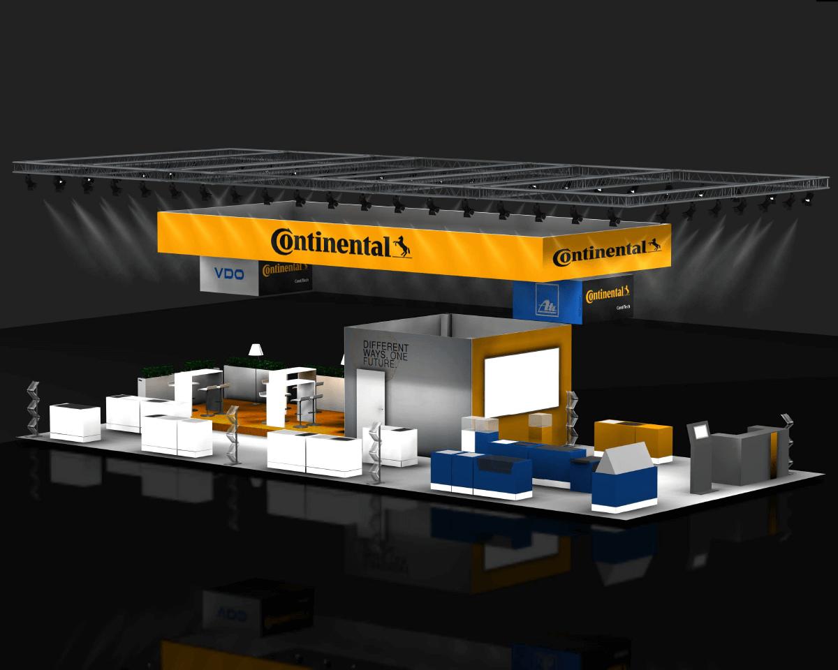 TRUST Continental Hausmessen 3D Stand