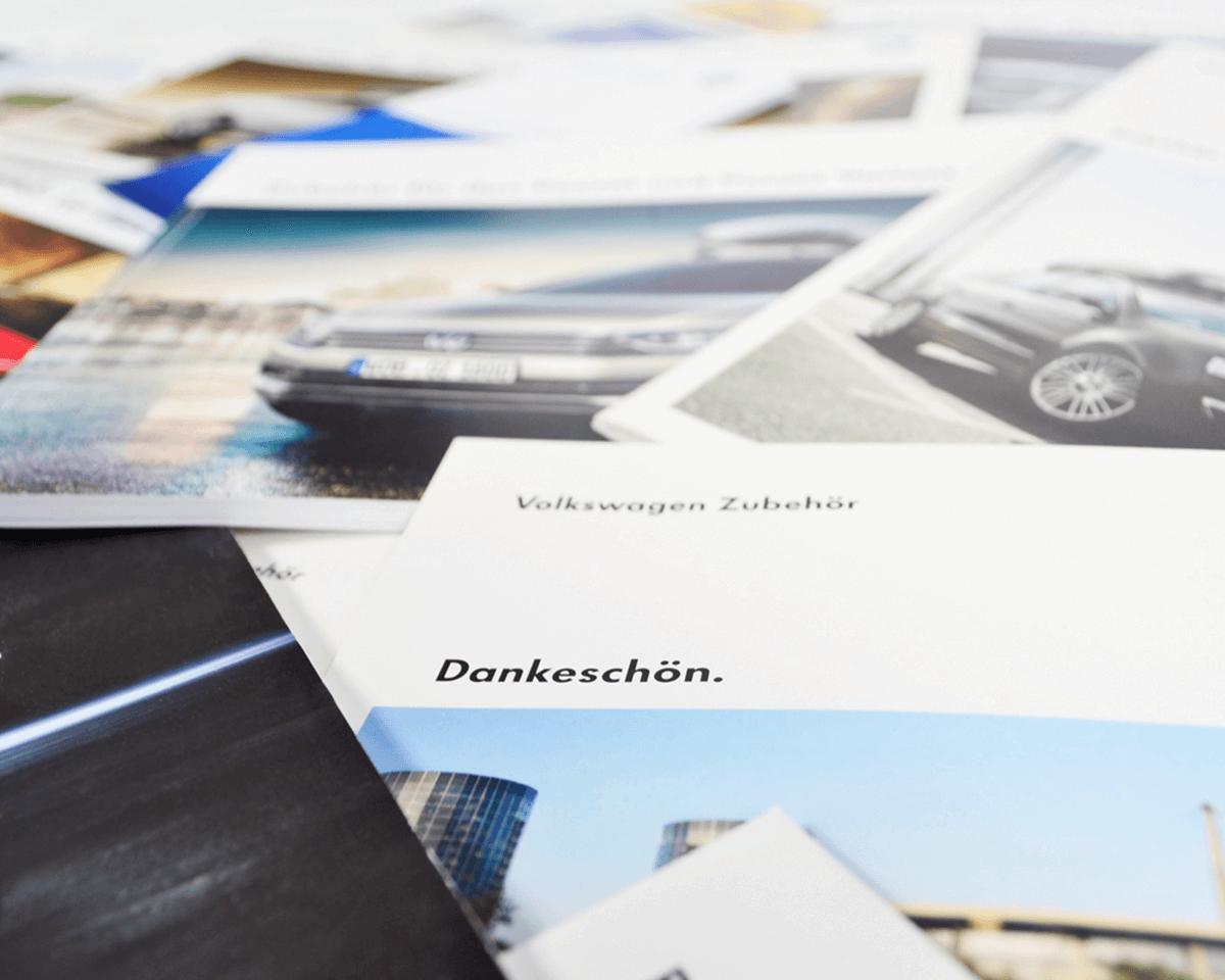 Volkswagen Zubehör Auszug aus der Broschüre