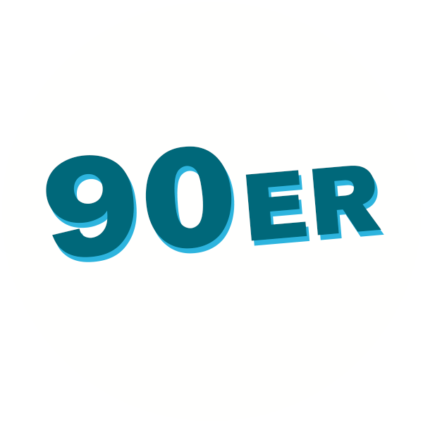 90er Jahre Kreis