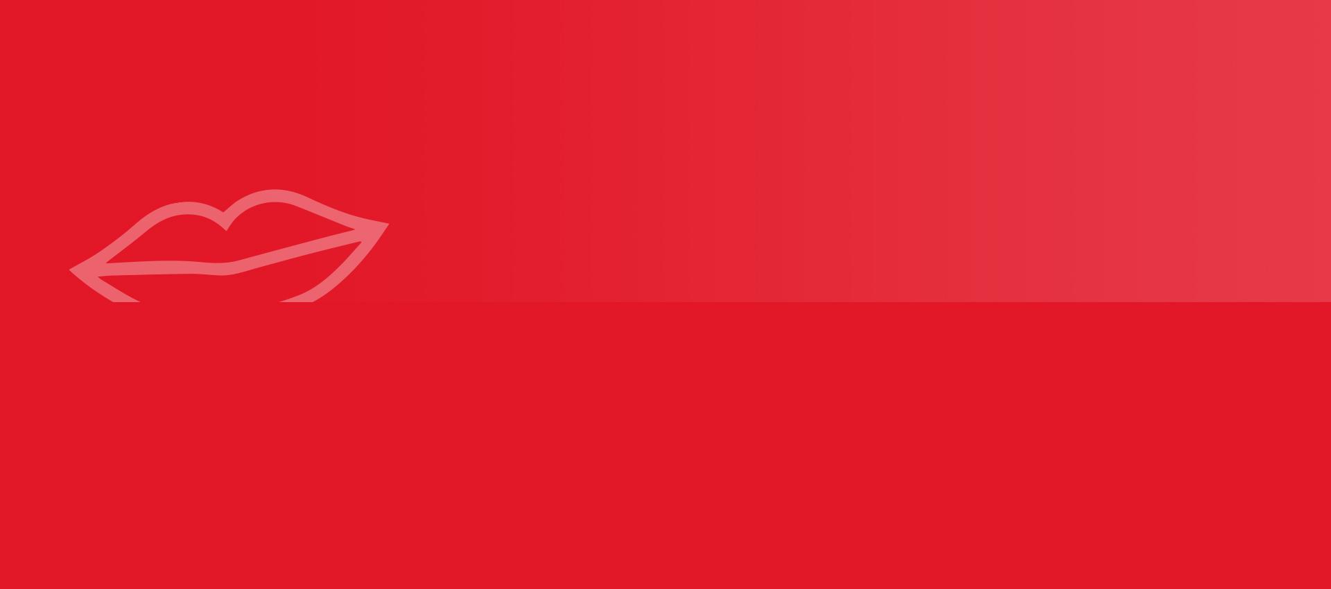 Roter farblicher Hintergrund - ungeschminkt